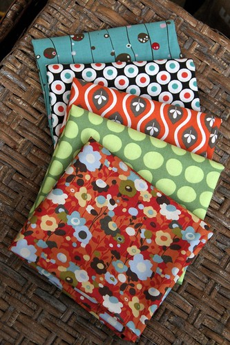 Fat Quarter pack I'm giving away!
