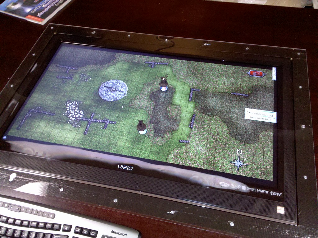 Ultimate Lcd Gaming Table