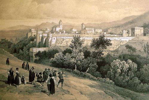 Vista de la Alhambra y el Generalife