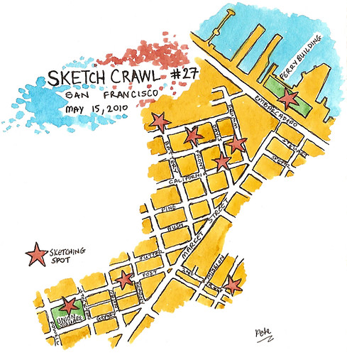sketchcrawl 27 route map