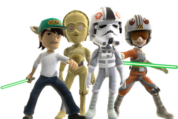 Avatars XBOX 360 Star Wars Empire Strikes