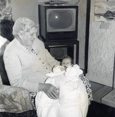 Image titled Valerie with Gran McCreath 1960s