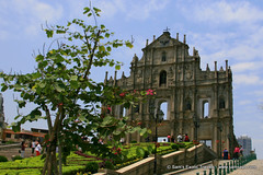Macau's Historic Landmark - the Ruins of the Church of St. Paul