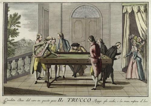 006-La carambola- Giuochi Trattenimenti e Feste Annue Che si Costumano in Toscana 1790- Giuseppe Piattoli