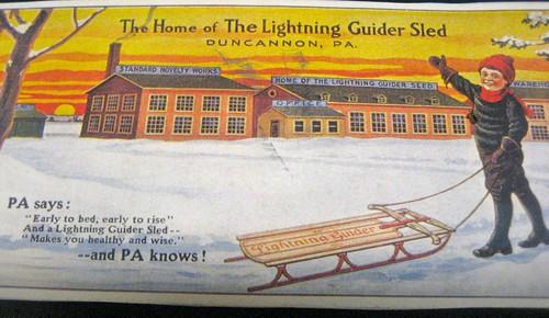 Duncannon Lightning Glider Sled Factory