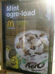 Mint Ogre-Load (Kimli) Tags: mcdonalds ewwwww mintogreload shrekfacials