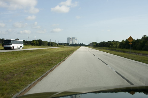 Driving towards the VAB