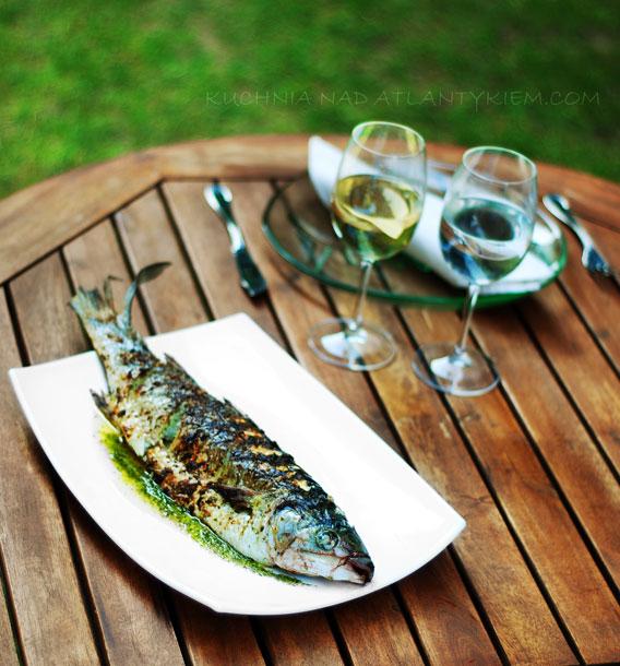 Garden fish grill