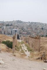 Southern Decumanus - Decapolis City of Gerasa - Jerash, Jordan (jrozwado) Tags: road ruins asia pillar jordan column jerash decapolis gerasa  decumanus