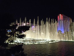 Fountains At Night - Bellagio