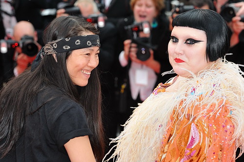 Beth Ditto at the Red Carpet of Hors la Loi
