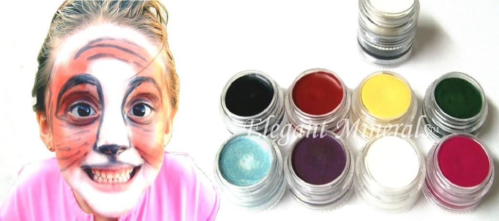 all natural halloween makeup elegant minerals face paint