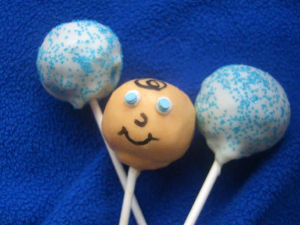Baby Shower (BOY) Lollie Cakes