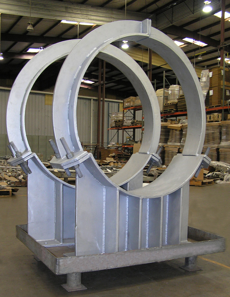Pipe Saddles for a Process Plant in Nebraska
