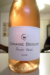 2009 Domaine Begude Vin de Pays d'Oc Pinot Rosé