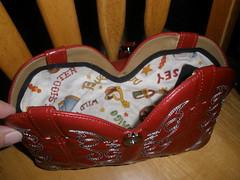 Cowboy boot purse 12