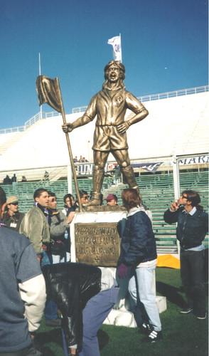 Estatua Batistuta