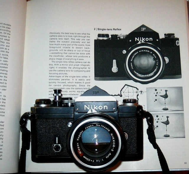 Nikon F with Time-Life book...