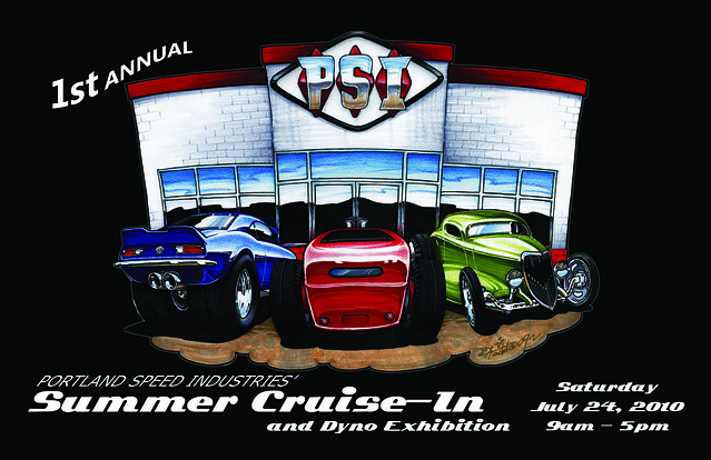 PSI's Summer Cruise-In and Dyno Exhibition Front