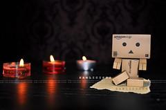 [005/365]: YOGA~ (Samlicious) Tags: yoga relax candles candle exercise danbo danboard minidanboard minidanbo
