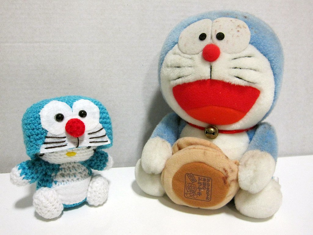 Crochet Doraemon Amigurumi : The world s best photos of crochet and doraemon flickr