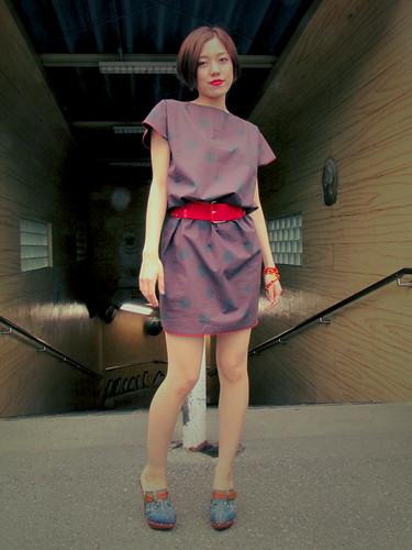 I love vintage dress