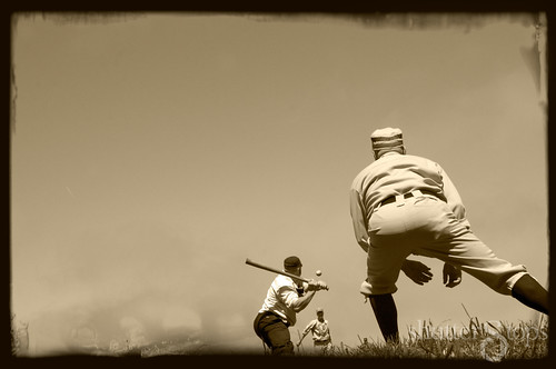 A day on the ball field