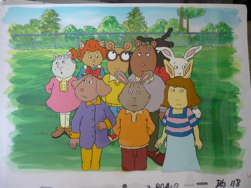 Arthur- with cel