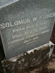 Solomon Fisher headstone