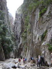 Hiking in the Canyon Torrent De Pareis