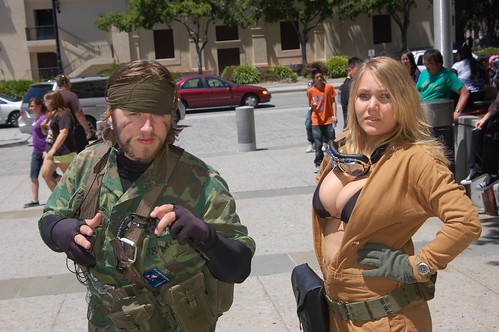 FanimeCon 2010: Snake and Eva