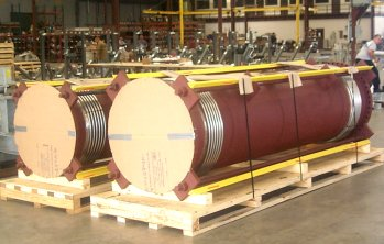 "28"" and 32"" Tied Universal Expansion Joints For An Oil Refinery In China"