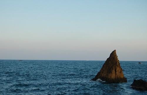 海から・・・