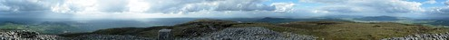 Sliabh Gullion Mountain Panorama