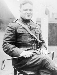 Fiorello La Guardia in his Army Air Services uniform during World War I, circa 1918. (La Guardia and Wagner Archives) Tags: wwi laguardia worldwar fiorellolaguardia fiorello thelittleflower mayorlaguardia