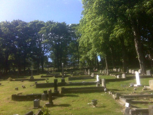 Swalwell graveyard June 10 2