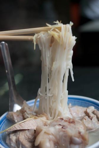 【台北】許仔豬腳麵線