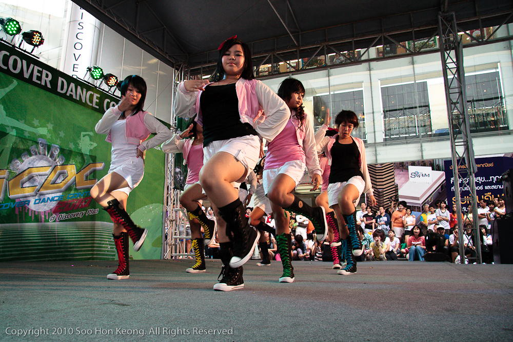 Nokia Asian Cover Dance Contest 2010 @ Bangkok, Thailand