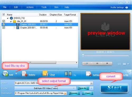 Dell Axim X51v And Blu-ray Movie 4676787359_3e70411a66