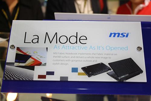 MSI Netbooks