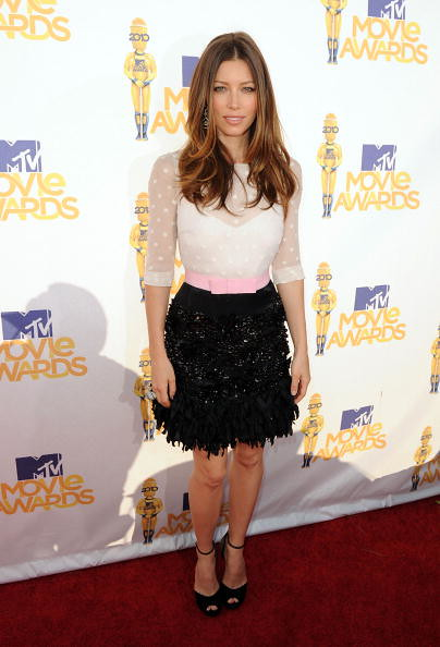MTV Movie Awards 2010 Jessica Biel