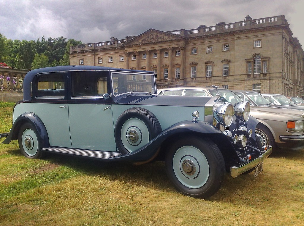 1934 Rolls Royce 20/25HP Wentworth Castle Barnsley Yorkshire