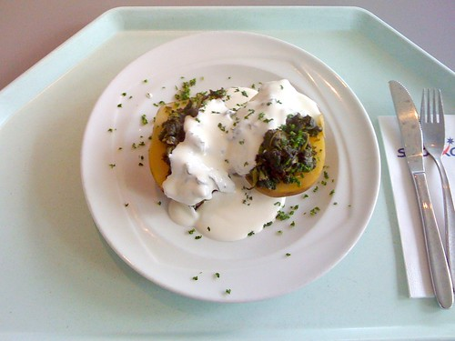 Farmerkartoffel & Blattspinat
