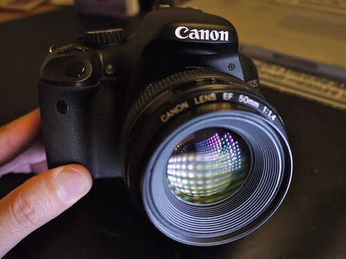Front View: Canon EOS 550D (Rebel T2i / Kiss X4 Digital)