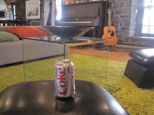 Diet Coke at Boogie studio - free