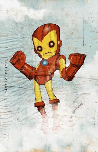 Iron Man  por Christopher Uminga