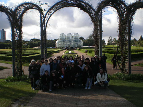 Todo mundo no Jardim Botânico. Foto: Bel Colmenero