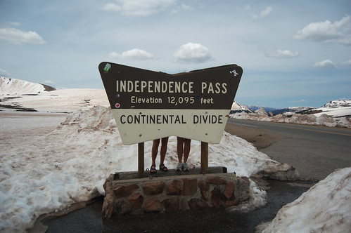 The Continental Divide in Colorado