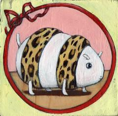 (rintintinneke) Tags: cute art pencil painting acrylic sold character small pop etsy rinsetsycom