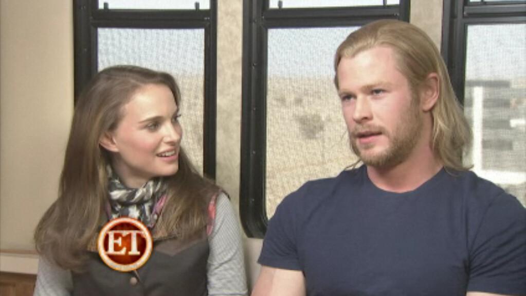 2011 Marvel's Thor movie Natalie Portman as Jane Foster